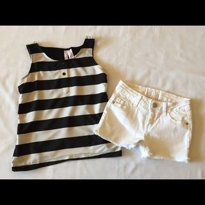 Girls Justice Outfit Top & Shorts 10